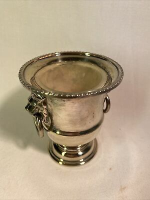 £1 • Buy Viners Of Sheffield Salt Pot Silver Plated