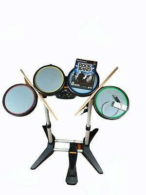 £54.55 • Buy Rock Band Playstation 3 PS2 PS3 PS4 822148 Harmonix Wired Drum Set With Pedal