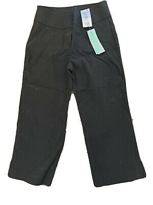 £1.80 • Buy BNWT Black Stretch Cropped Trousers Size 8