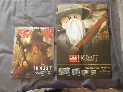 £10 • Buy The Hobbit Empire Magazine And Lego Poster