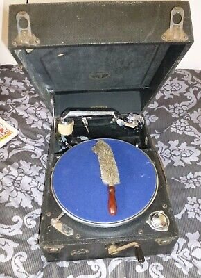 £50 • Buy Vintage COLUMBIA Gramophone Model 201 Wind Up Record Player SPARE OR REPAIR