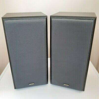 £50 • Buy  Denon SC-M3 Speakers. Black Wood With Grey Grills. Excellent Condition.