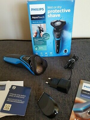 £22 • Buy Philips Aquatouch S5050/04 Wet And Dry Rotary System Cordless Electric Shaver