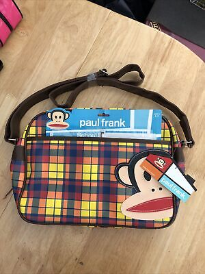 £6.99 • Buy Paul Frank Messenger Bag & Stationery Set Multi Colours 2012 New With Damage