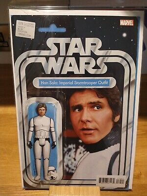 £18 • Buy Issue 74 Star Wars Solo Signed Action Figure Variant JTC John Tyler Christopher