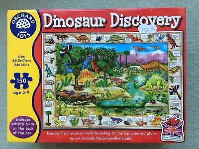 £2.50 • Buy Orchard Toys Dinosaur Discovery Jigsaw Puzzle - 150 Pieces