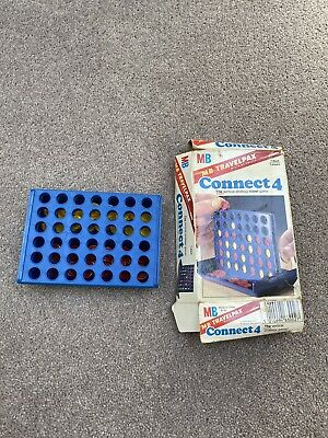 £8 • Buy MB Travel Connect 4 Vintage Game 1982
