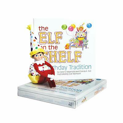AU24.51 • Buy The Elf On The Shelf 'A Birthday Tradition' Book & Hat & Suit NEW