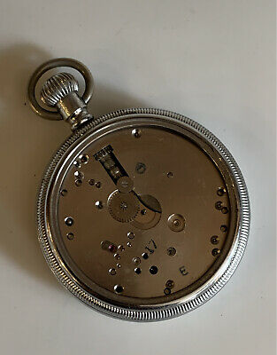 £9.99 • Buy Star Watch Case Co Military Pocket Watch Case Waltham Movement - Spares, Repair