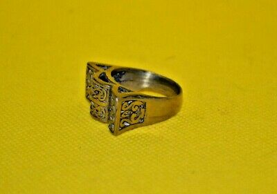£0.01 • Buy Extremely Ancient Rare Bronze Roman Legionary Empror Ring Old Artifact Authentic