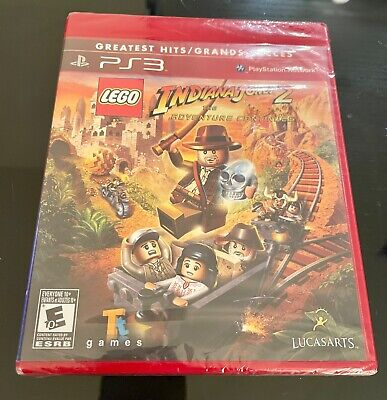 £23.02 • Buy NEW LEGO Indiana Jones 2: The Adventure Continues (Sony PlayStation 3, 2009)