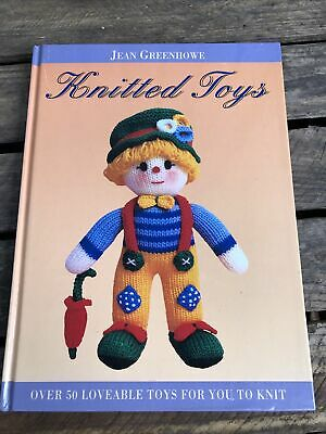 £2.99 • Buy Knitted Toys Book  Jean Greenhowe Knitting Crafting Hobby Book