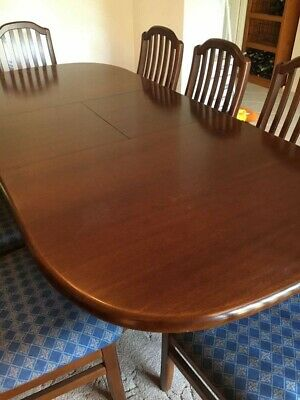 AU2200 • Buy Dining Table & 8 Chairs By Davis Furniture Made Australian Blackwood