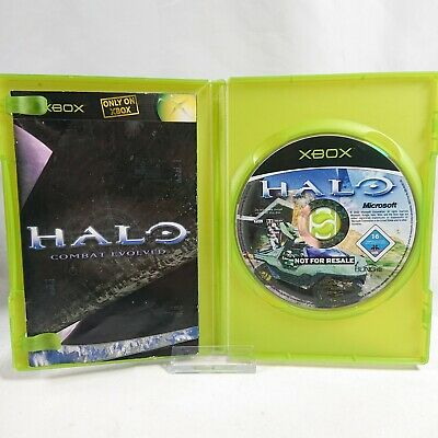 £6.99 • Buy Halo: Combat Evolved - Not For Resale - Microsoft Xbox - PAL - 2002 - Tested