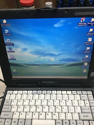£2 • Buy Panasonic CF-27 Toughbook Laptop - Used With Charger (RARE VINTAGE MODEL)WIN XP