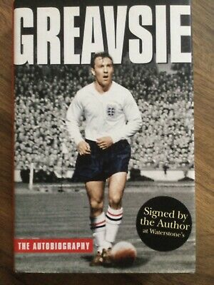 £10.50 • Buy Signed Jimmy Greaves 'Greavsie' Hardback Autobiography