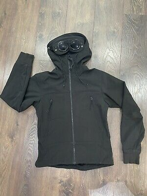 £169.99 • Buy Mens CP Company Jacket Medium Soft Shell Black Excellent Condition.