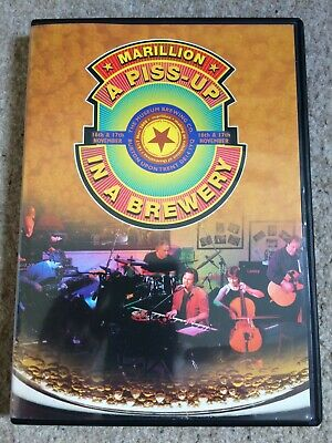 £22.99 • Buy Marillion - A Piss-up In A Brewery Dvd