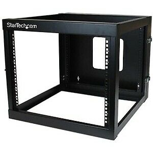 £264.15 • Buy Startech 8U 22In Depth Hinged Open Frame Wall Mount Server Rack Cold-Rolled
