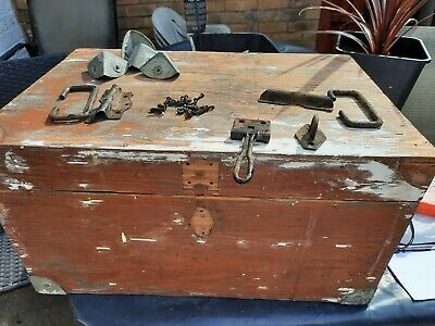 £35 • Buy Vintage Wooden Trunk Chest