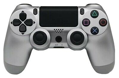 £24.99 • Buy WMGW Wireless Gaming Controller For PS4/ Playstation Four Sleek Silver Design