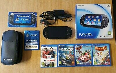 £82 • Buy PS Vita Console(PCH-1003) With 4 Games, Case And 16gb Memory Card - Boxed