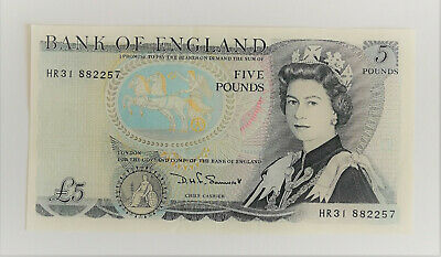 £5.50 • Buy Duke Of Wellington Old Blue £5 Note Issued 1971 Mint Condition D Somerset HR3188
