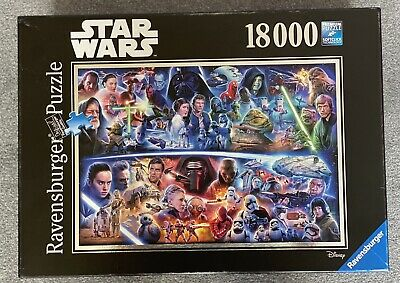 £300 • Buy Ravensburger Star Wars Galactic Time Travel 18000 Piece Jigsaw Puzzle