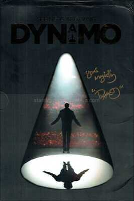 £59.99 • Buy Dynamo Autograph *Magician, VIP Package* Hand Signed Tour Programme