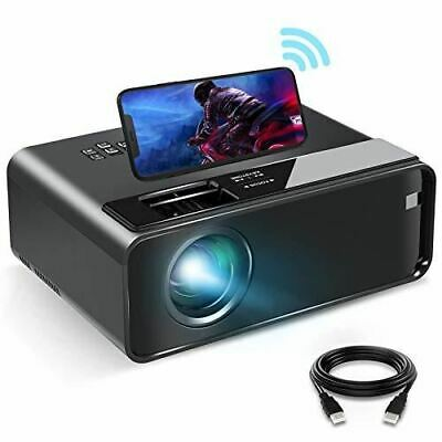 £181.51 • Buy 2021 Upgrade WiFi Movie Projector For IPhone With Android/iOS/HDMI/USB/SD/VGA