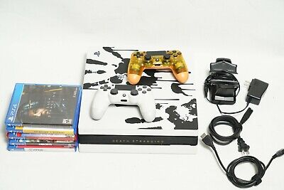 AU551.98 • Buy PS4 Pro 1TB Console Death Stranding Bundle   2 Controllers   5 Games   Chargers