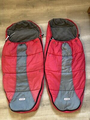 £40 • Buy Phil&teds Xlr Two Footmuffs Red/grey Colour (length 100)