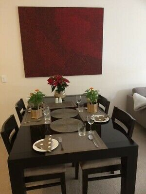 AU270 • Buy Dining Table And Chairs 6 Used