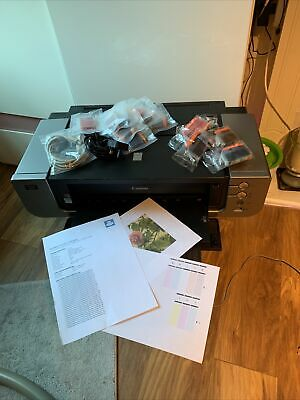 £245 • Buy Canon PIXMA Pro 9000 Mark II A3 Printer With Inks Working Great Please Read