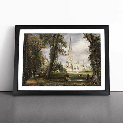 £18.95 • Buy Salisbury Cathedral Vol.1 By John Constable Wall Art Framed Print Picture
