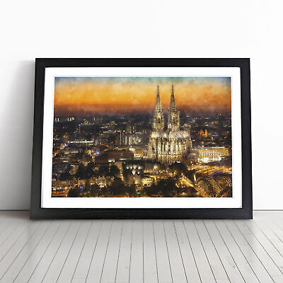 £18.95 • Buy The Cologne Cathedral Vol.1 Painting Wall Art Framed Print Picture