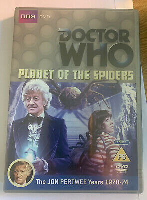 £5 • Buy Doctor Who – Planet Of The Spiders 2 Disk DVD BBC 2011 BBCDVD 1809 Jon Pertwee