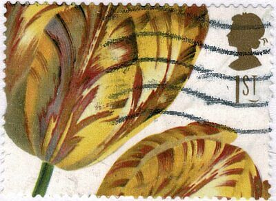 £0.50 • Buy 2004, Royal Horticultural Society, Used Self-adhesive Booklet Stamp..
