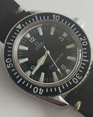 £4999 • Buy Omega Seamaster 300 Vintage Dive Watch 166.0324 No Date 165.024 Watchco 550