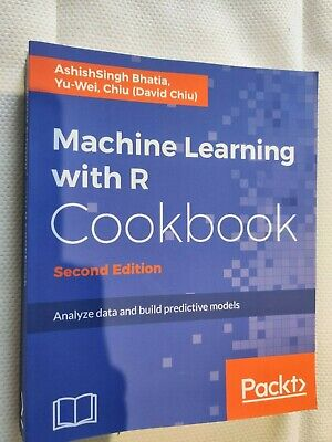 £20 • Buy Machine Learning With R Cookbook - New
