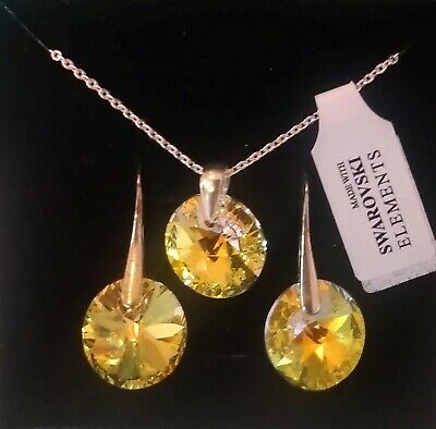 £10 • Buy Jewellery Collection Sale 925 Silver, Gold Plated + Swarovski Cristals