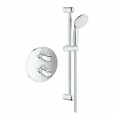 £144.99 • Buy Grohe Grohtherm 1000 Modern Concealed Thermostatic Shower Set 34575001