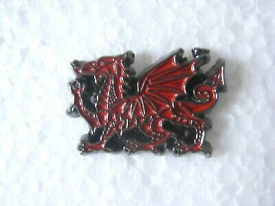 £1.25 • Buy Red Dragon Pin Badge. Patriotic Lapel. Brand New. Wales Welsh. March 1st.  V2