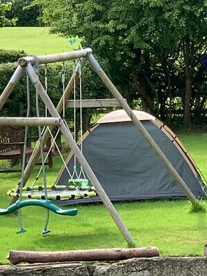 £60 • Buy Tp Swing Set With Swing, Nest And Glide Ride