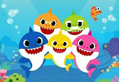 £3.25 • Buy Baby Shark Poster  - SIZE A4 260GSM