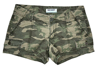 £6.53 • Buy Women's Old Navy Camouflage Shorty Shorts Size 0