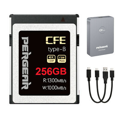 AU259.99 • Buy AU PERGEAR CFexpress Type B 256GB Memory Card For RAW 4K VIDEO UP To1300MB/s