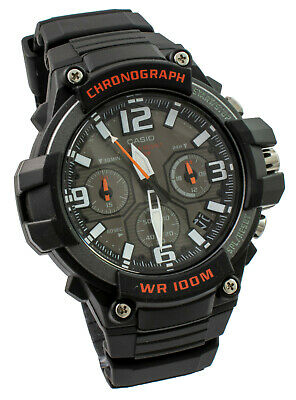 View Details Casio Gents Watch In Black Chronograph MCW-100H-1AVEF Brand New • 49.50£