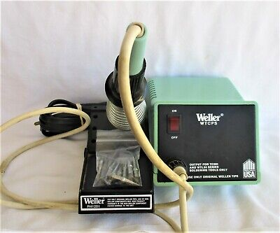 £73.12 • Buy Complete Weller WTCPT Soldering Station + 11 Tips * TC201 – PU120 - PH1201