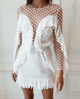 AU180 • Buy Alice McCall Forever Young Dress In Porcelain Size 6